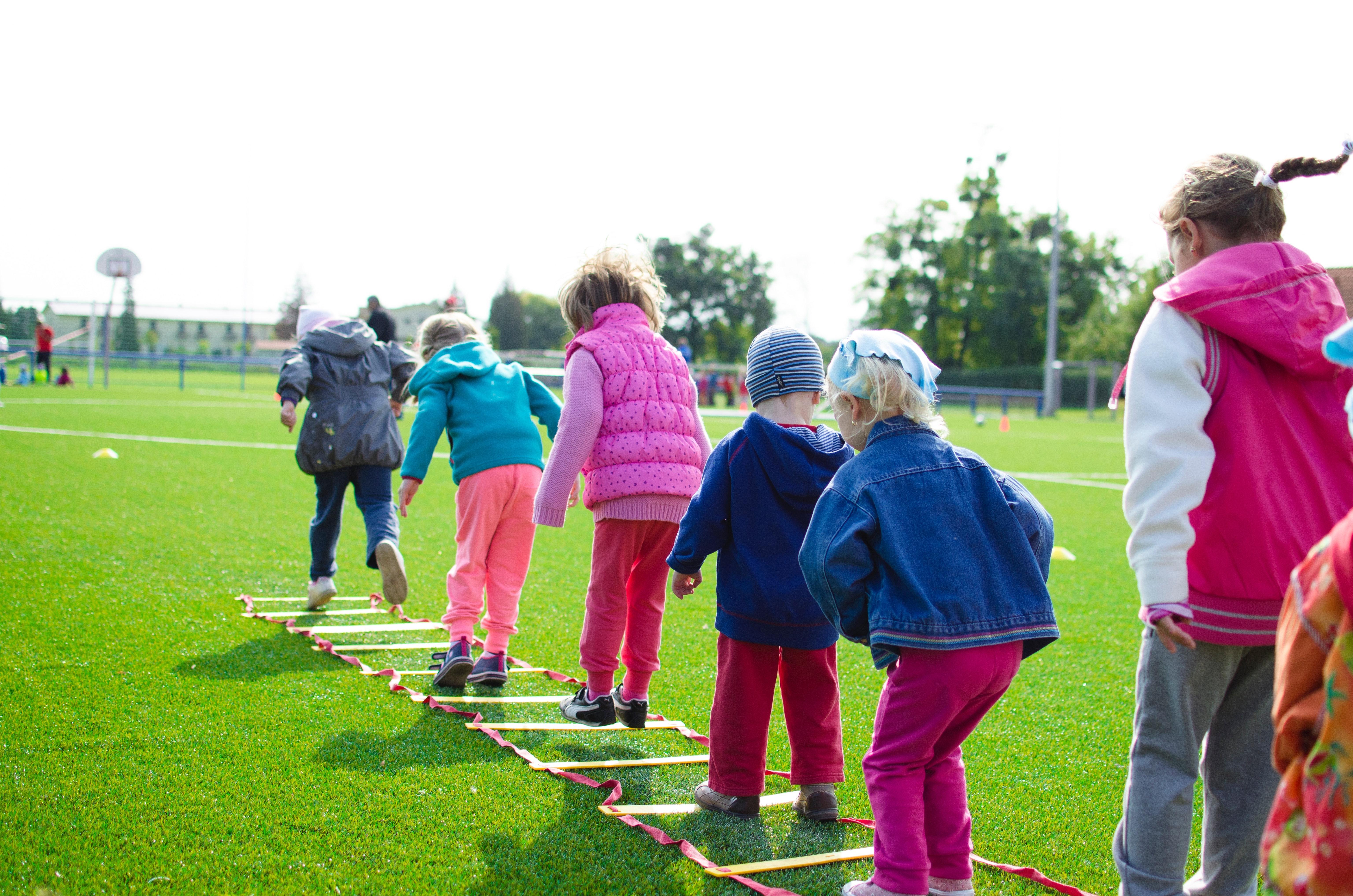 Ana Okulları için Doğa ile Başbaşa Eğlencili Sporlar