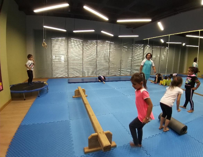 Kış Okulu Cimnastik